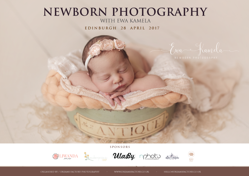 Newborn Photography Workshop 2017 Uk